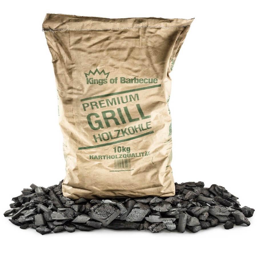 Premium Holzkohle für Grillschale und Feuerschale